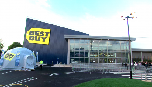 Best Buy external building