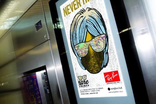 Rayban LCD advert
