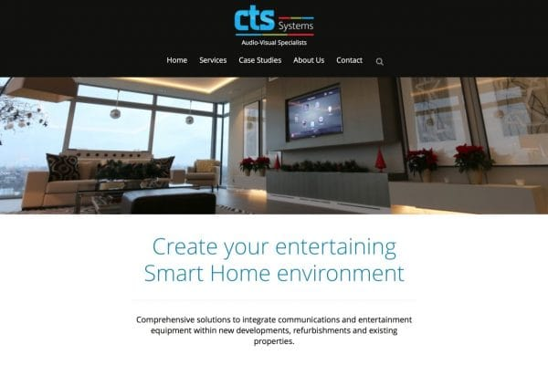 CTS Systems website