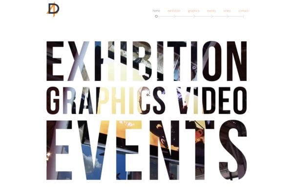 D4 Exhibitions website