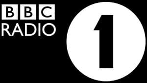 BBC Radio One black logo