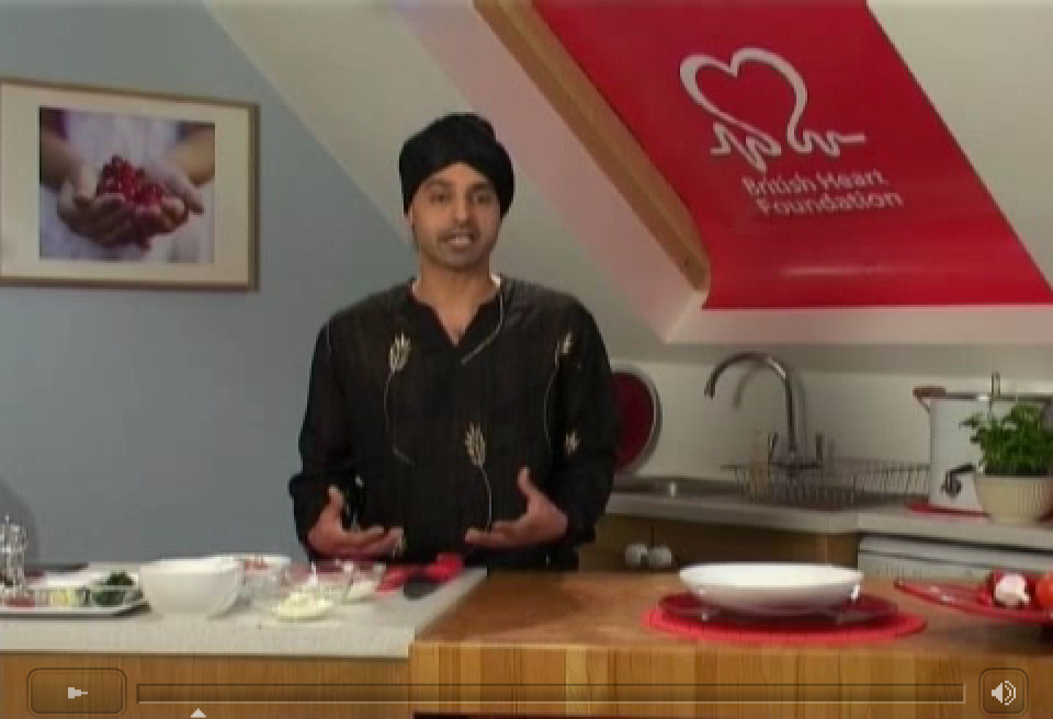 British Heart Foundation - Chicken Tikka Masala video