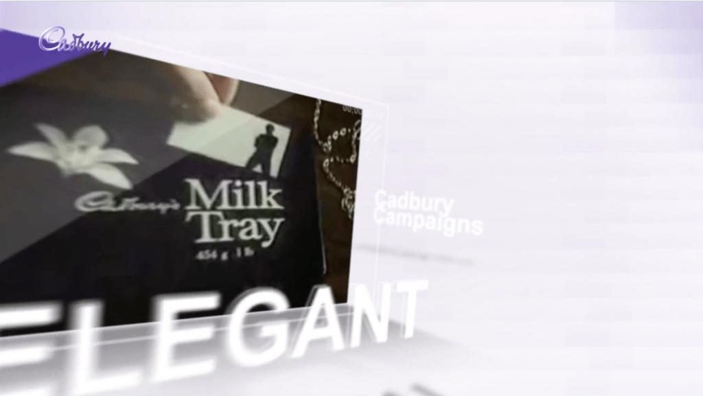 Cadbury's strategic marketing video still 2