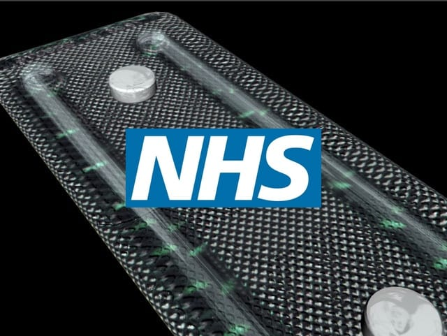 NHS 3D pill render