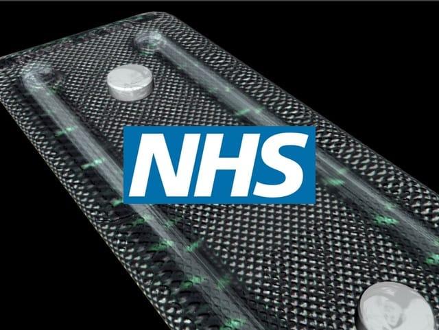 NHS 3D pill render