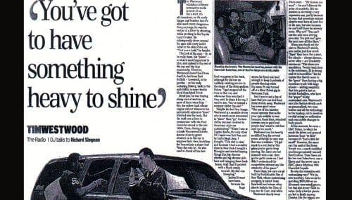 Radio One Westwood inside page 3